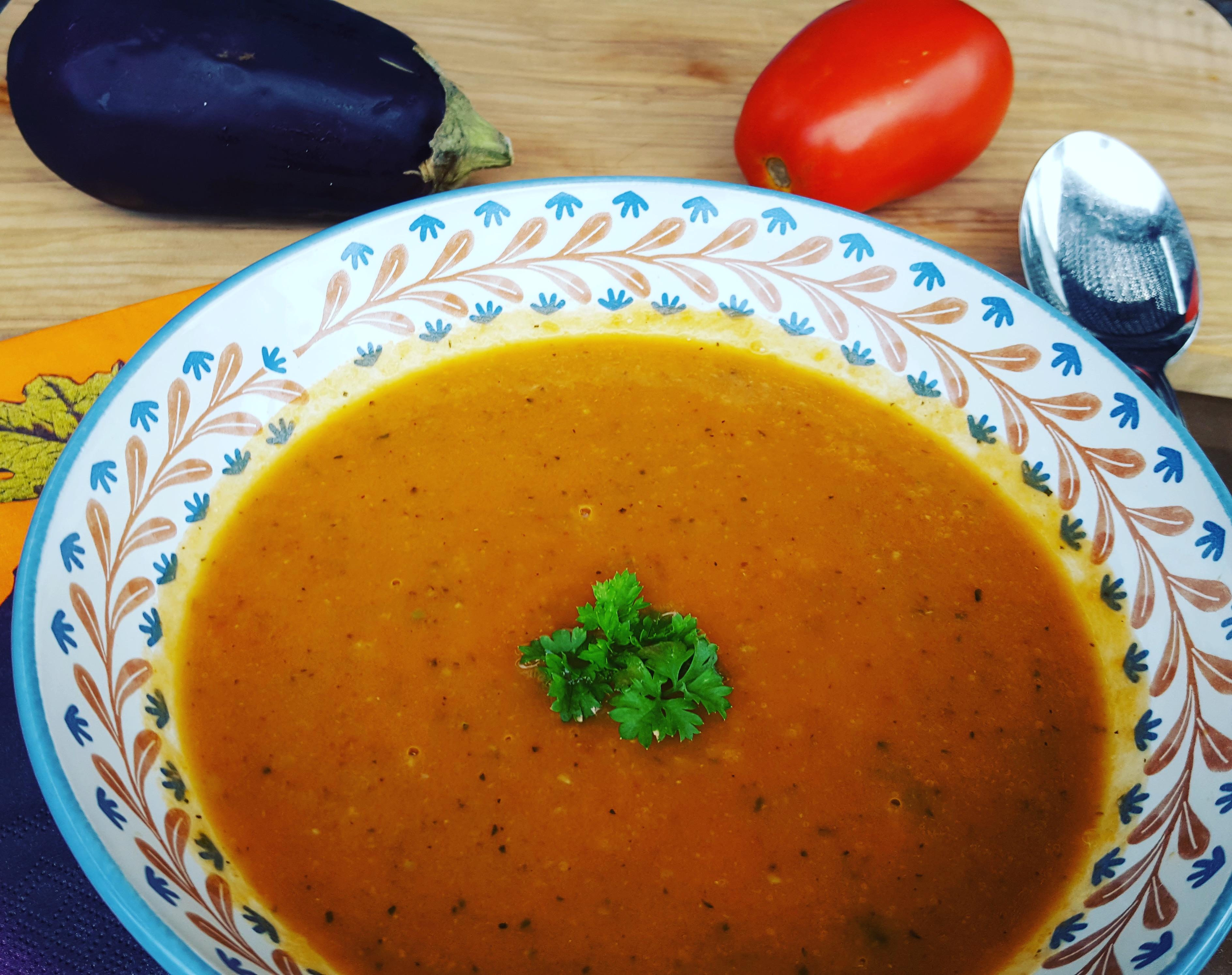 potage aux tomates la proven ale les saveurs de marie. Black Bedroom Furniture Sets. Home Design Ideas